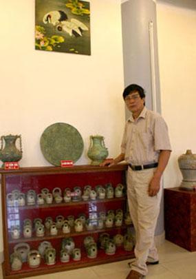 Ông Nguyễn Thế Võ. Ảnh Phạm Trường.