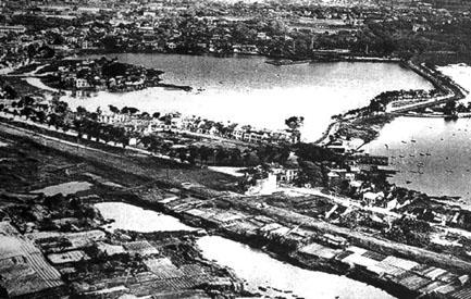 Quang cảnh làng Ngũ Xã thế kỉ XVIII