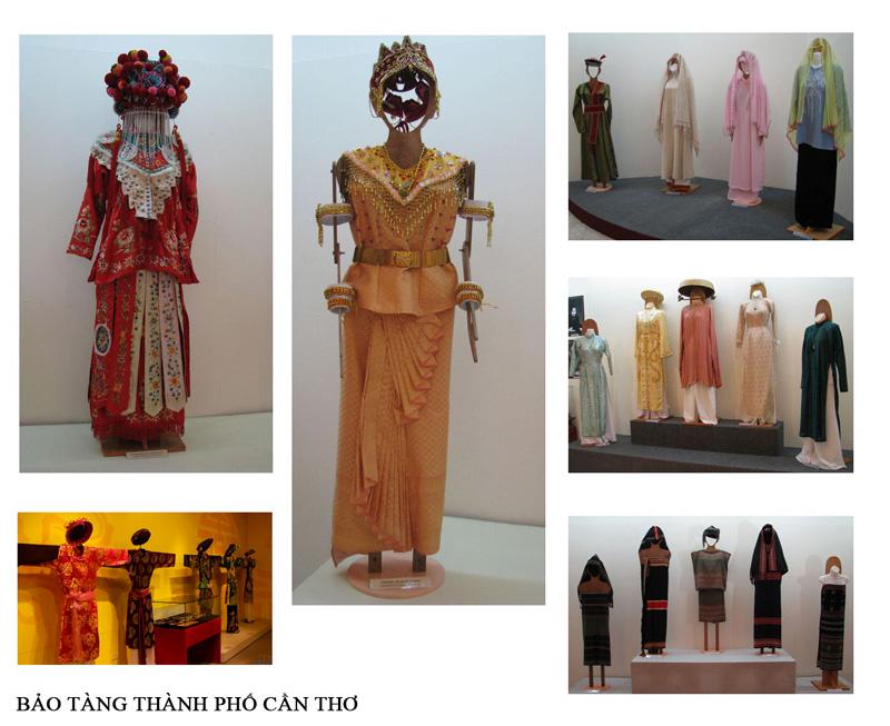 Trang phục của các dân tộc ở vùng miền khác nhau