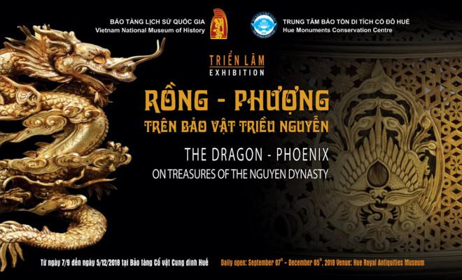 """Triển lãm """"Rồng - Phượng trên bảo vật triều Nguyễn"""" - ảnh 1"""